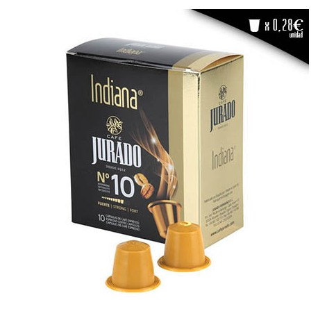Indiana compatible coffee capsules
