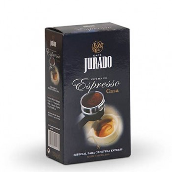 House ground espresso coffee
