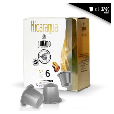 Nicaragua compatible coffee capsules