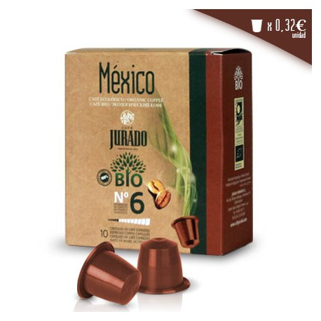 Mexico organic compatible coffee capsules