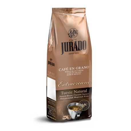 Café en grano Extracream 250g.