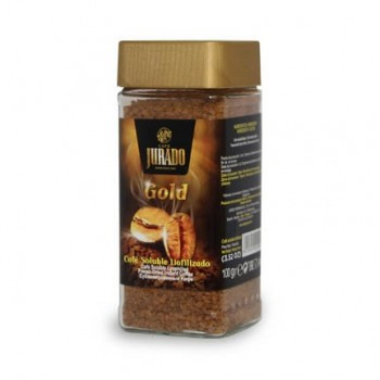 Regular freeze-dried soluble coffee