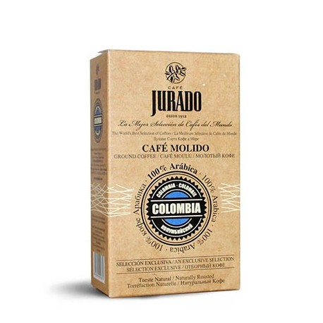 100% Arabica ground coffee - Colombia