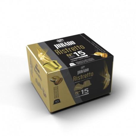 Cápsulas de Café Ristretto Compatibles Nespresso®