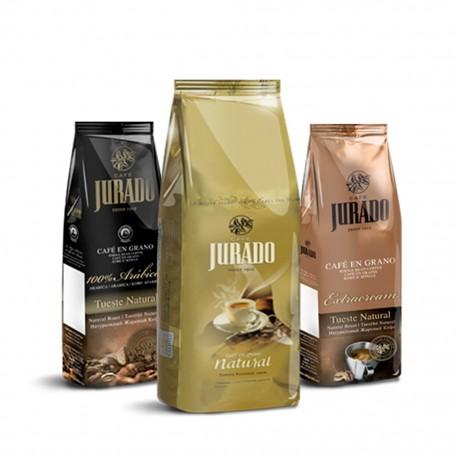 Pack Degustación de Café en Grano 1kg