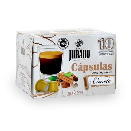 Cápsulas de Café con aroma Canela