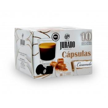 Cápsulas de Café con aroma Caramelo