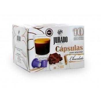 Cápsulas de Café con aroma Chocolate