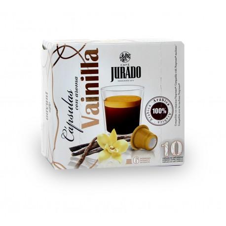 Cápsulas de Café con aroma Vainilla