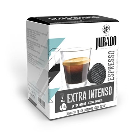 CÁPSULAS  DE CAFÉ COMPATIBLES DOLCE GUSTO® EXTRA INTENSO
