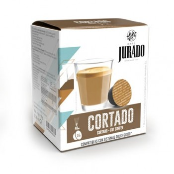 CÁPSULAS  DE CAFÉ COMPATIBLES DOLCE GUSTO® CORTADO