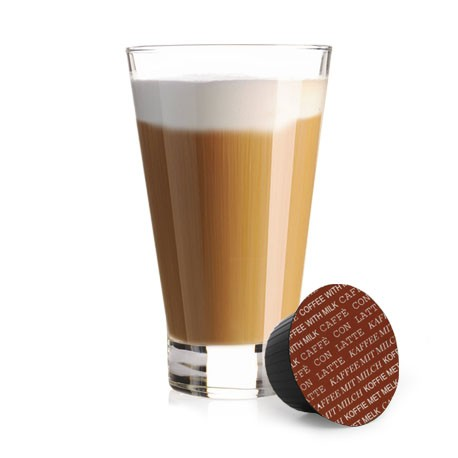 CÁPSULAS  DE CAFÉ CON LECHE COMPATIBLES DOLCE GUSTO®