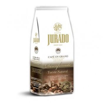 Café en Grano Descafeinado 1kg 100% Arábica Tueste Natural