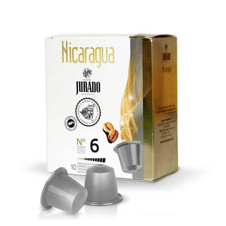 Cápsulas de café compatibles Nicaragua