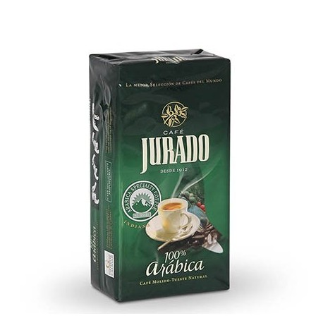 100% Arabica ground coffee
