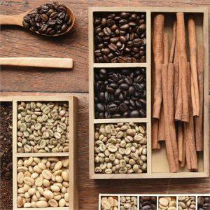 El color del grano de café