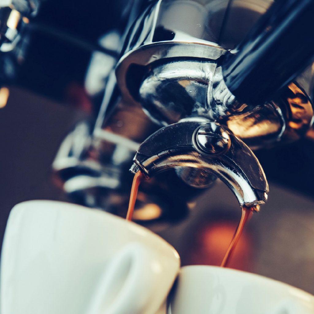 caida café expreso