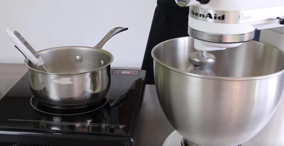 como preparar macarons de café