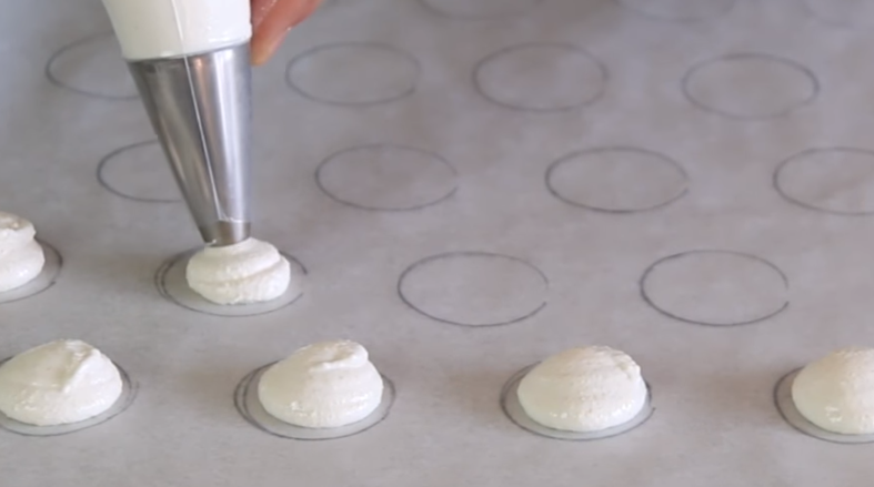 crema pastelera de macarons de café
